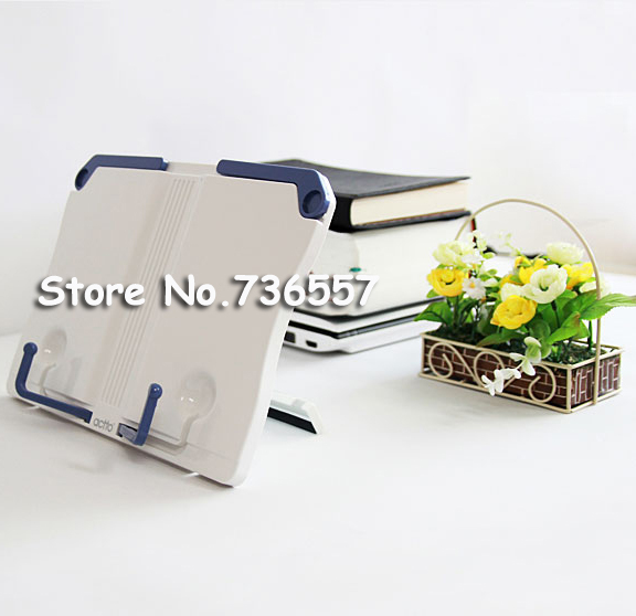 High Quality Wholesale Price Adjustable Portable Book Document Stand Reading Desk Holder Bookstand cartoon cute book holder for reading book stand plastic adjustable student reading support desk music stand document holder