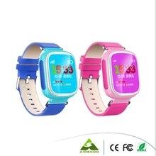 เดิมเด็กGPS Watchสมาร์ทนาฬิกาข้อมือSOSโทรค้นหาสถานที่l ocatorอุปกรณ์ติดตามสำหรับเด็กปลอดภัยต่อต้านหายไปตรวจสอบเด็กQ80