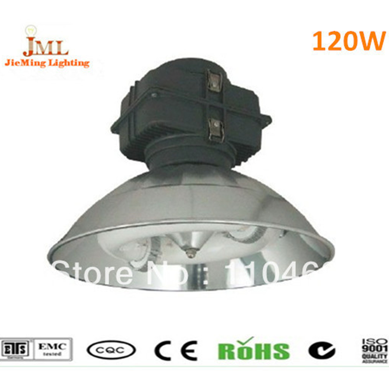 2017 Hot Sales hanging fluorescent light fixture induction high bay light 120W AC220V Induction High Bar Lamps Outdoot Lamps