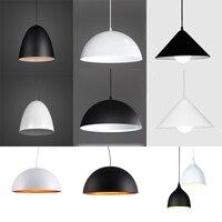 Simple Restaurant Pendant Lights Modern Coffee shop Bar AC110V/220V E27 for decor lamp shade