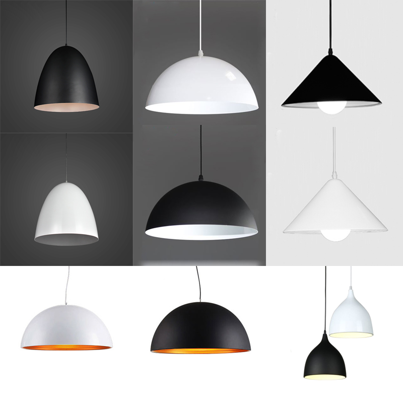 Simple Restaurant Pendant Lights Modern Coffee Shop Bar AC110V/220V E27 For Decor Pendant Lamps