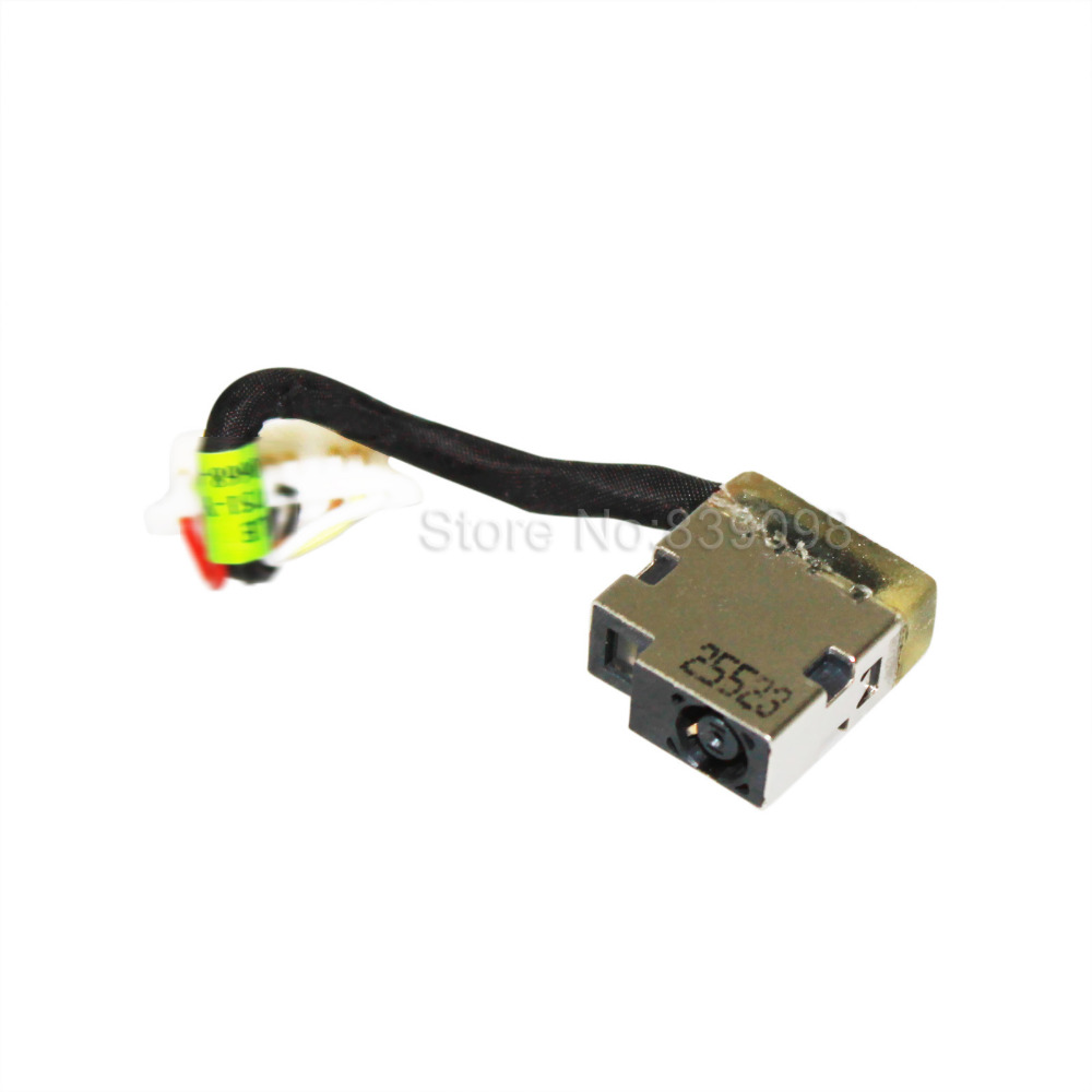 DC Power Jack Socket Cable Harness For HP OMEN 17-w047nr 17-w121tx 17-w122tx
