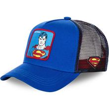 2019 neue Marvel patch bestickte baseball kappe hochwertige mode superman muster net caps hip hop hut kühlen street dance hüte(China)