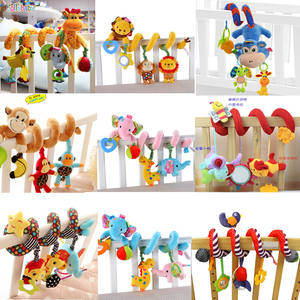 Toys Spiral Newborn Baby Crib Stroller Plush-Rattle Hanging-Mobile Animal Infant 0-12-Months