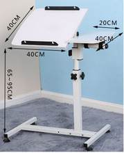 (40+20)*40cm 360 Degrees Rotation Multipurpose Movable Laptop Table Anti-Slip Height Adjustable Notebook Computer Desks