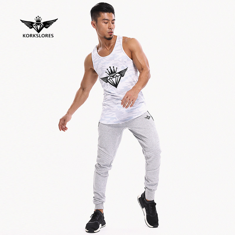 2018 New Gyms engineers Brand Body vest bodybuilding clothing and fitness men undershirt   tank     tops     tops   golds men undershirt