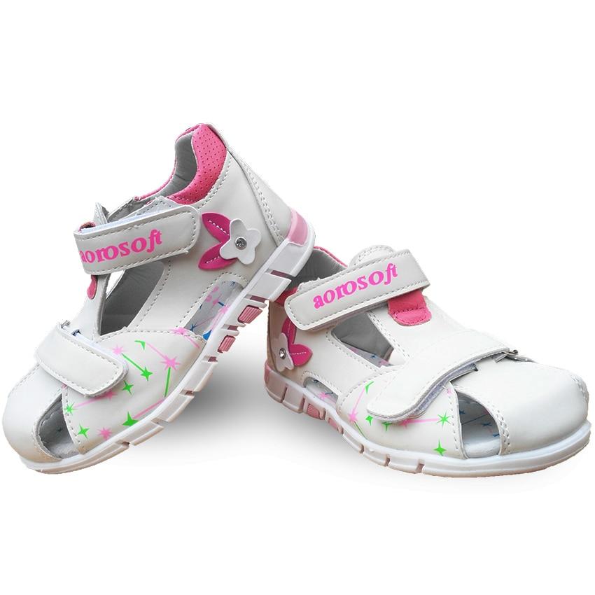 2017 latest cute 1pair summer children's arch support sandals non-slip girls shoes, super quality children / children's soft sol