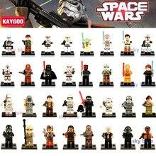 kaygoo classic  star wars figure building blocks darth vader yoda obi wan han clones bb-8 r2-d2 windu princess toys kids gift