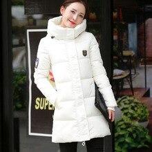 2017 New Women Winter Coat Thick Cotton Winter Jacket Womens Outerwear Plus Size Long Hooded Parkas for Women Winter BN020