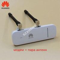 Новый Оригинальный разблокированный HUAWEI E3372 E3372h-607 150 Мбит/с 4G LTE USB модем двойной антенный порт Поддержка всех диапазонов с CRC9antenna