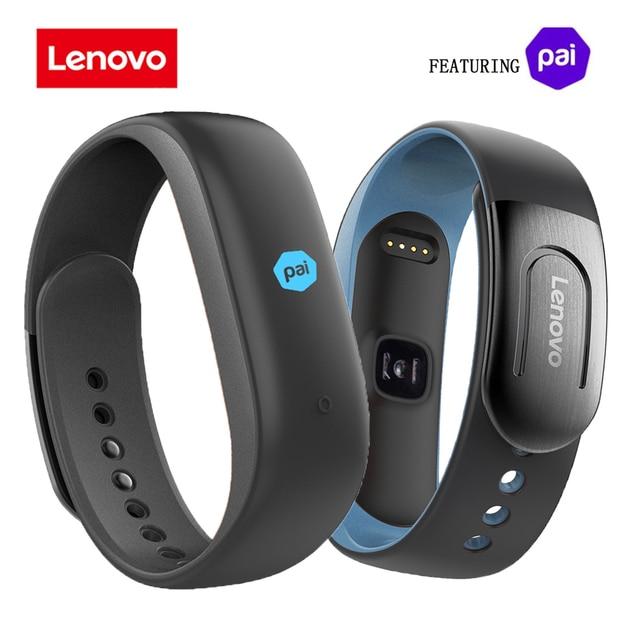 € 46 05 |Aliexpress com: Comprar Lenovo HW02 Plus Smartband PAI Impermeable  Pulsera Inteligente Bluetooth Monitor de Ritmo Cardíaco MIO anti perdida