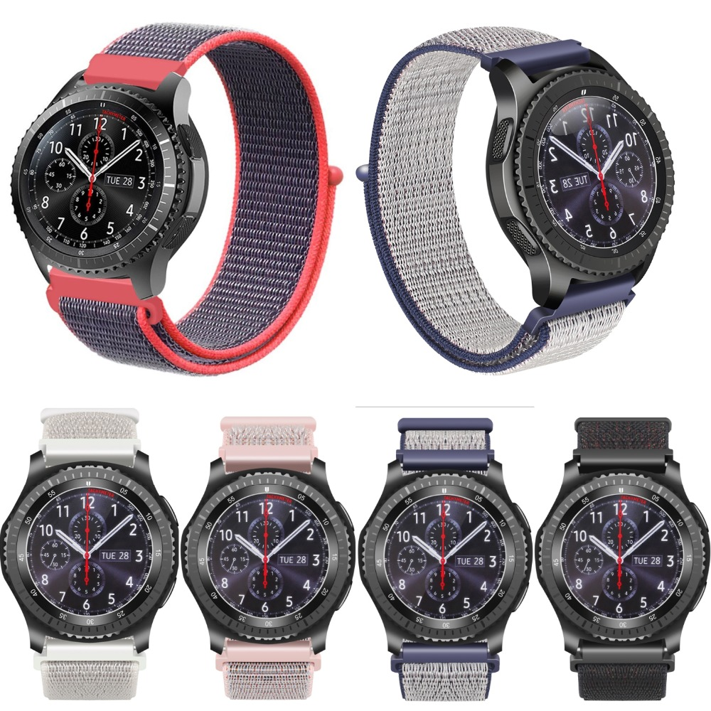 Joyozy Smart Accessories for Amazfit Pace strap nylon Band for Xiaomi Sport Watch Amazfit strap Replacement Band High Quality цена и фото