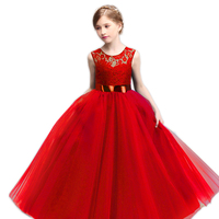 Winter Infant Girls Cosplay Elsa Anna Princess Snow Queen Dress Carnival Celerbration Party Costume For Children