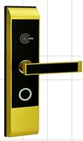 Zinc Alloy ID Card/ Key Unlocking Access Control Hotel Lock Can use to Wood Door Electric Lock    -