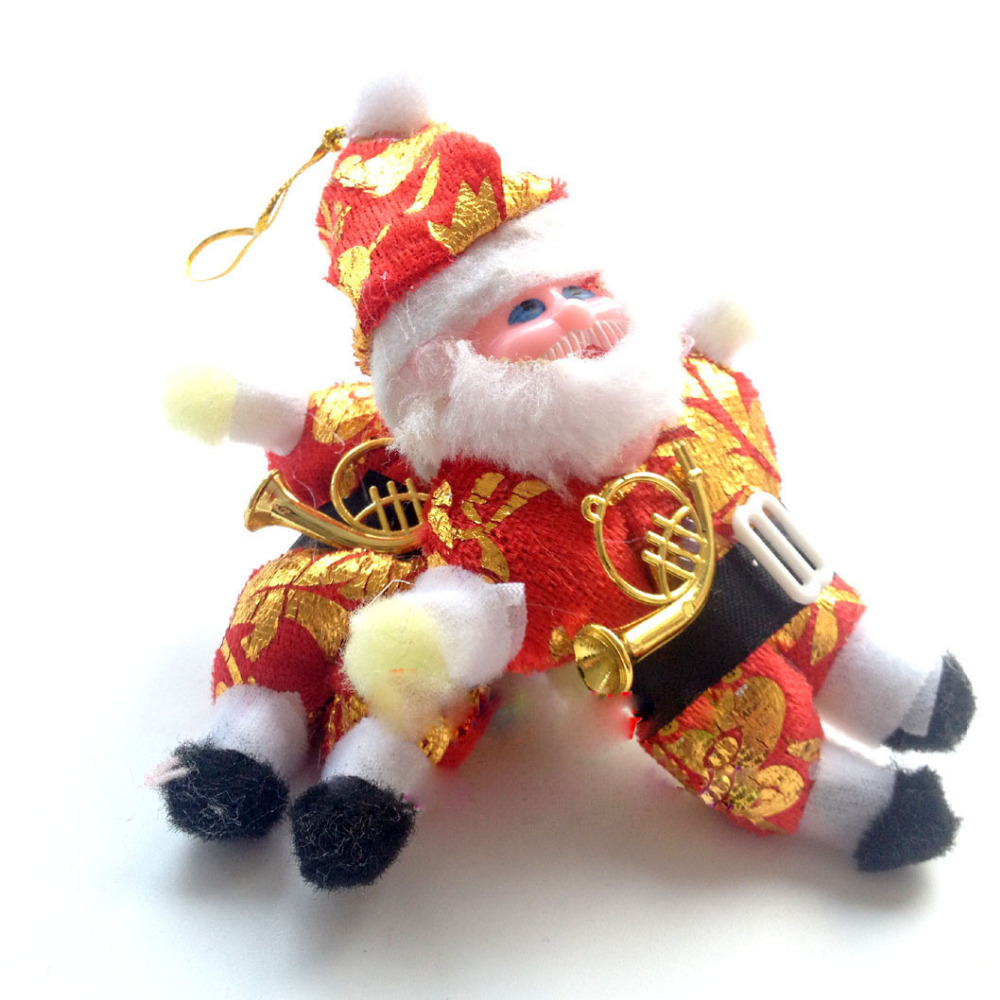 exclusive 1 pcs super cute christmas decoration tree decorations snowman doll christmas socks childrens gift tiny toy in pendant drop ornaments from home
