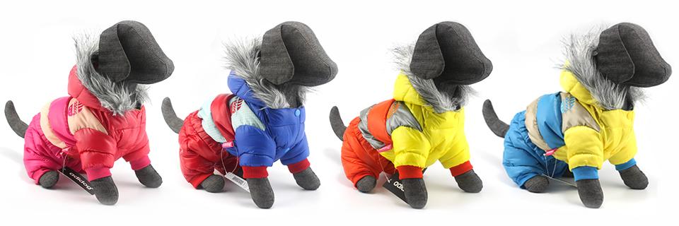 Chaqueta impermeable de invierno para perro 19