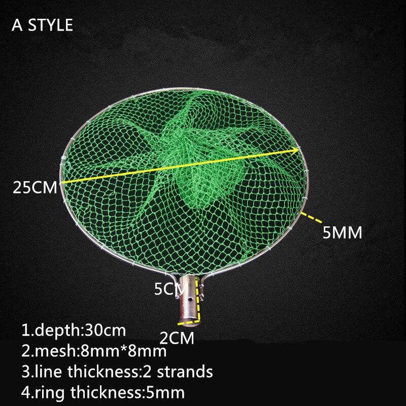 diametro 25 cm 30 cm nailon rede 01