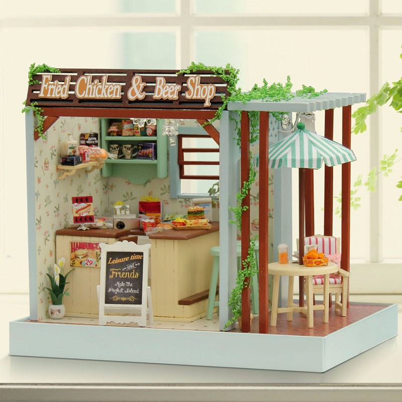Image Of Dollhouse Bookcase Decor