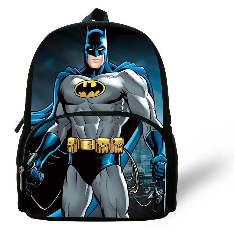 Us 16 58 17 Off 12 Inch Little Boys Mochila Batman School Bags For Kids 1 6 Years Old Child Backpack Online Bolsa Infantil Menino In