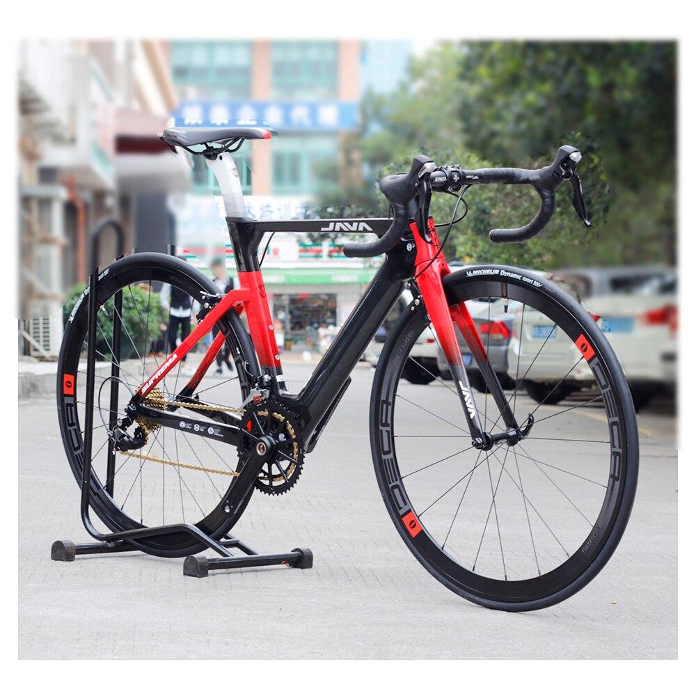 Vélo de route JAVA supreme ma carbone 700C avec 105 5800 manette de vitesse Aero Direct V frein roues en Aluminium 22 vitesses vélos de course