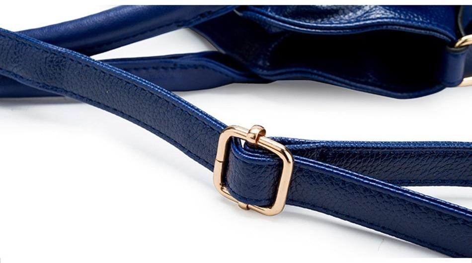 Hazy beauty Women Handbag Female PU Leather Bags Handbags Ladies Portable Shoulder Bag Office Ladies Hobos Bag Totes 86