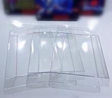 FZQWEG 50 adet kutu koruyucuları temizle kılıfları için süper N64 CIB blister kristal kılıf kol