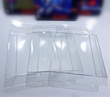 Fzqweg 50 Stuks Doos Protectors Clear Gevallen Super Voor N64 Cib Blister Crystal Case Mouw