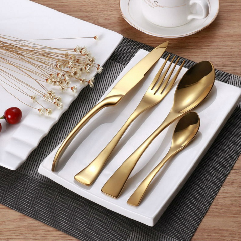 Online Get Cheap Gold Besteck -Aliexpress.com | Alibaba Group | {Besteck 41}