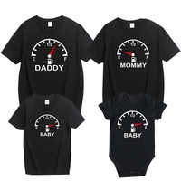 2019 Family Matching Clothes Look Father Mother Son Daughter Outfits Clothing T shirt New Mom Daddy and Me Baby Boy Girl Clothes