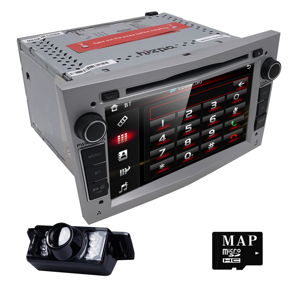 2 din font b Car b font DVD Stereo for Vauxhall Opel Astra H G Vectra