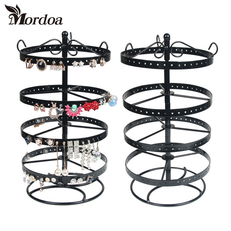 Mordoa HOT Sale 188 Holes Earrings Necklace Ear Studs Jewelry Display Rack Metal Stand Organizer Holder Display ShelfMordoa HOT Sale 188 Holes Earrings Necklace Ear Studs Jewelry Display Rack Metal Stand Organizer Holder Display Shelf