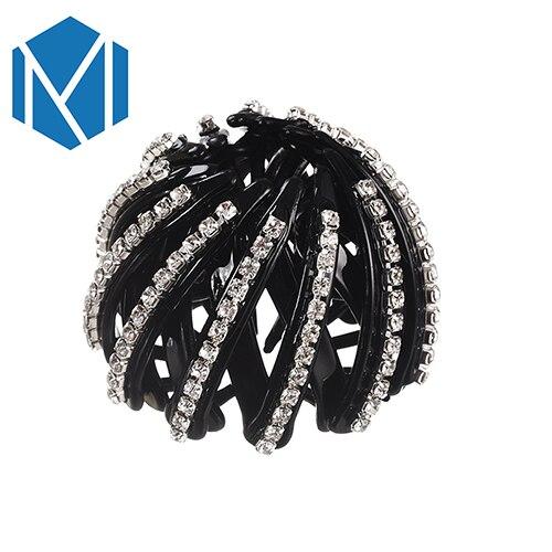 Dropwow MISM Fashion Crystal Ponytail Holder Rhinestone hair Crab ... afbf779d4642