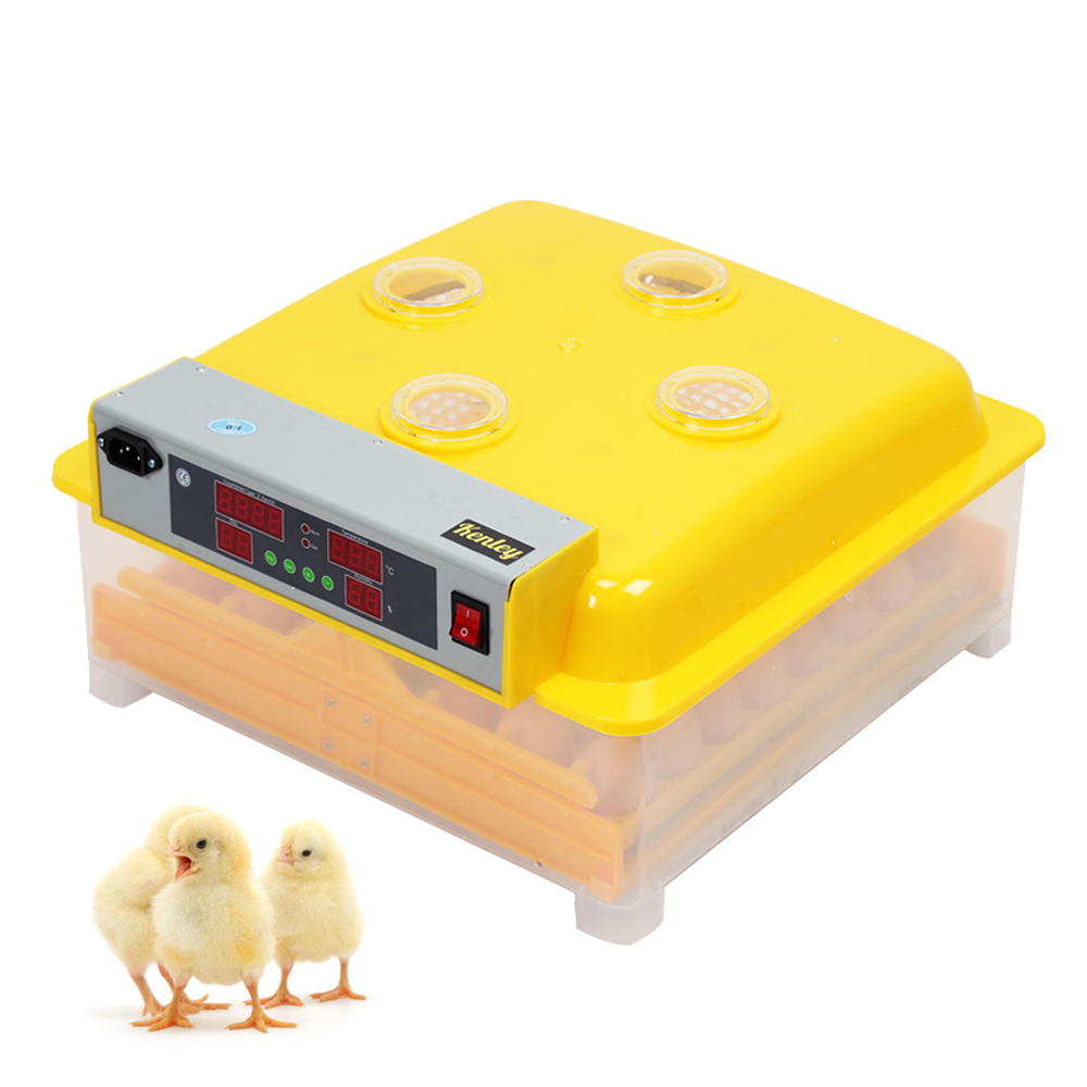 48 Eggs Incubator Automatic Hatchery for Chicken Duck Goose Quail Egg Incubation Electronic Display Thermostat Hatchers