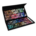 New Arrival 128 Full Color Professional Eyeshadow Makeup Palette Lace Design Shimmer Eyeshadow Cosmetic Set Kit