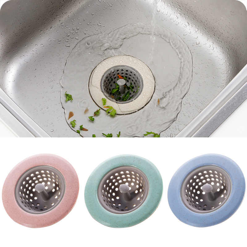 Otários Banheiro Silicone Anti-bloqueio Ferramentas da cozinha Pia Da Cozinha De Drenagem Dreno de Assoalho Tampa Redonda Plug Filtro de Água