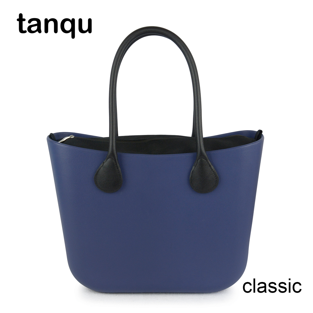 2018 New tanqu Classic EVA Bag with Insert Inner Pocket Colorful Handles EVA Silicon Rubber Waterproof