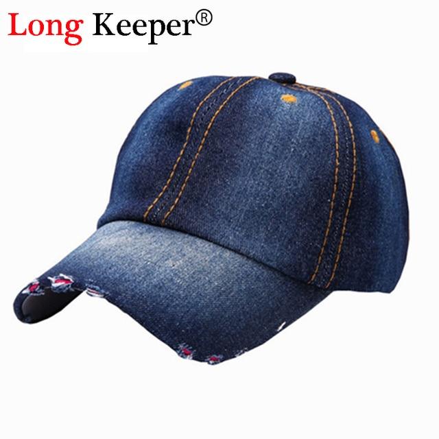 Classic Denim Caps For Men Women Distressed Wearing Baseball Cap Brand  Snapback Caps Men Women Snapback Hats Van Gorras RZ80 d9796f9849b0