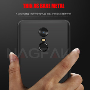 Image 5 - NAGFAK Silicone Phone Case for Xiaomi Redmi Note 4 Note 4X Global Version Note4 Cover Matte Soft Protective Phone Bags Case Capa