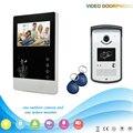 V43D11-ID 1V1 4.3 Inch Главная Безопасность Видео-Телефон Двери поддержка Рф ID Разблокировка работы с электронными дверь Домофон