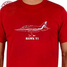 Fashion 2019 Men Short Sleeve T shirt Aeroclassic - Red Arrows Hawk T1 Aircraft Inspired Casual T-Shirt Cool Summer Tees