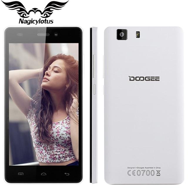 Original Doogee X5 3 Г Мобильный Телефон MTK6580 Quad Core 5 дюймов 1280*720 Dual SIM 8MP Мобильного Телефона 1 Г RAM 8 Г ROM Android 5.1 смартфон