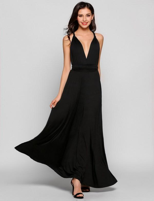HTB1nOh6PFXXXXbsXVXXq6xXFXXXw - Women Long Dress Sleeveless Deep V Neck Backless JKP271