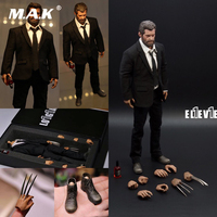 Collectible 1/6 Boxed Eleven Logan Wolverine Hugh Jackman Uncle Wolf Elderly Version Full Set Action Figure Model for Fans Gifts