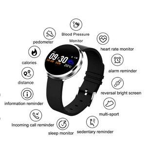 Смарт-фитнес-браслет S3 с Bluetooth, пульсометр, измеритель кровяного давления, Sweartproof, спорт, калории, дистанция, запись шагов