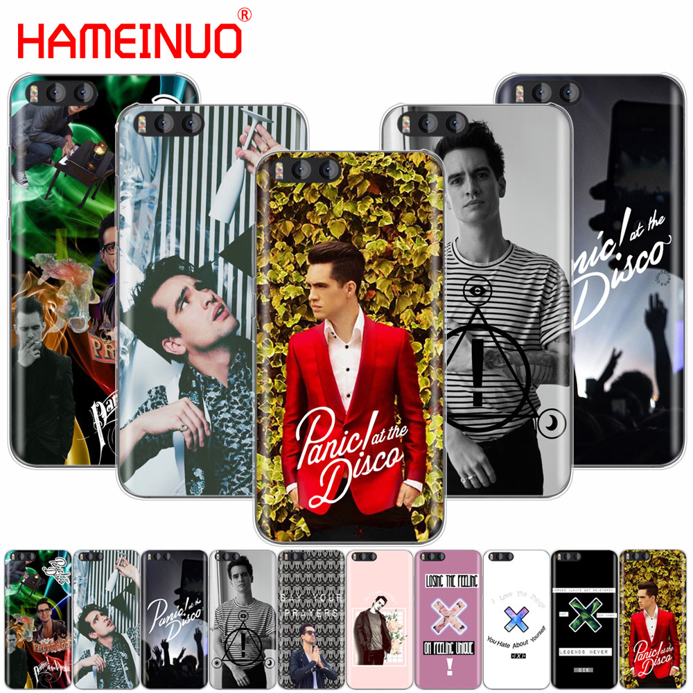 HAMEINUO brendon urie Panic At The Disco Cover Case for Xiaomi Mi 3 4 5 5S 5C 5X 6 Mi3 Mi4 4S 4I 4C Mi5 MI6 NOTE MAX 2 mix plus