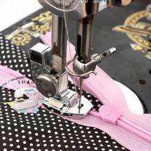 Zipper foot for butterfly trapeze Shanghai old household sewing machine accessories contact old treadle sewing machine