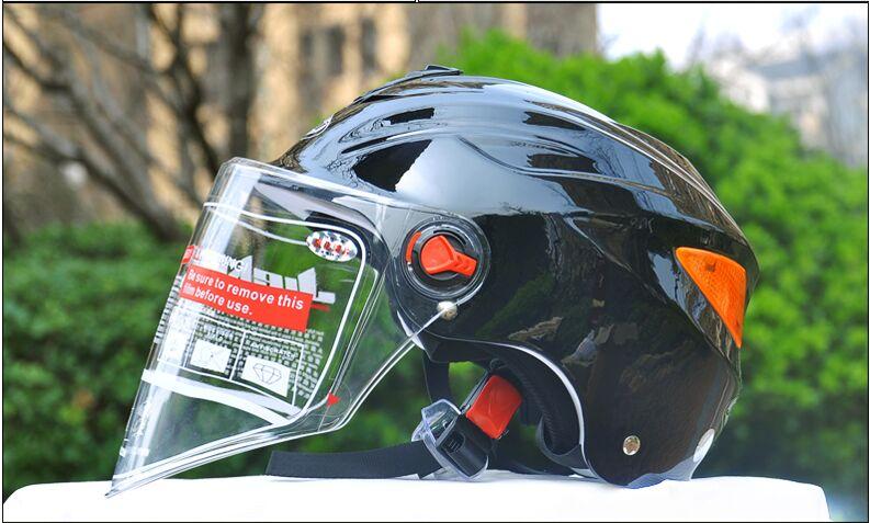JieKai Summer Motorcycle Helmet Scooter Men Women Breathable Moto Bike Motorbike Helmets