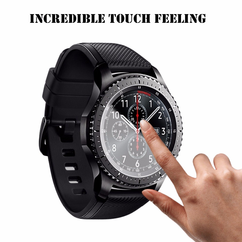 3PC Ultrathin HD Film Transparent Screen Protector For Samsung Gear S3 Classic Frontier Smart Watch Clear Screen Protection Film
