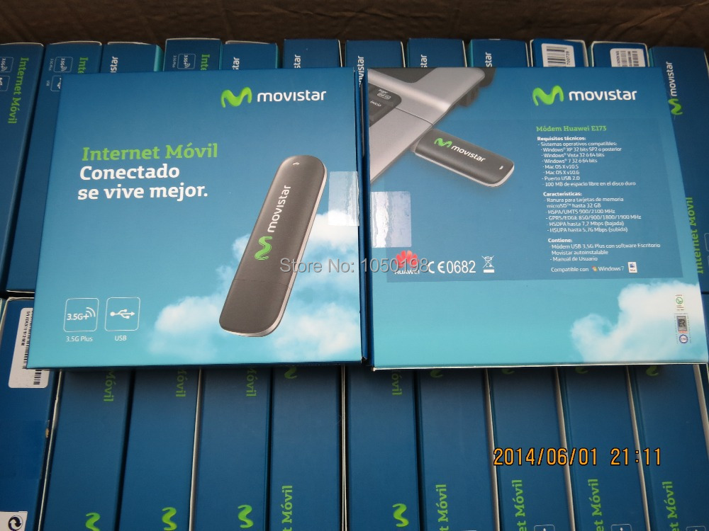 HUAWEI E173u-2 3G WWAN HSDPA UTMS USB MODEM 7.2M