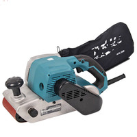 Belt Sander Metal Wood Polisher Can Be Flip Professional Woodworking Tools 940W 380m/min